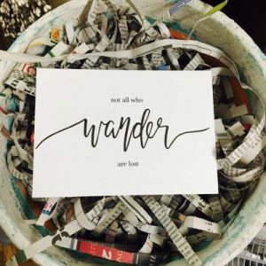 She Sees Truth Quality hand-lettered encouragement
